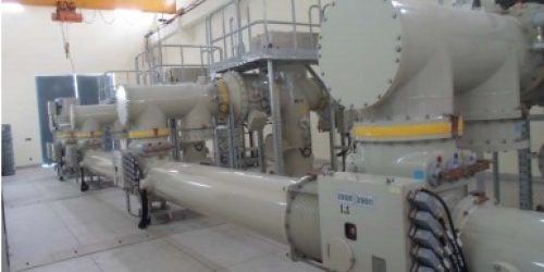 132 kV GEPCO GIS Building Sialkot INSIDE VIEW