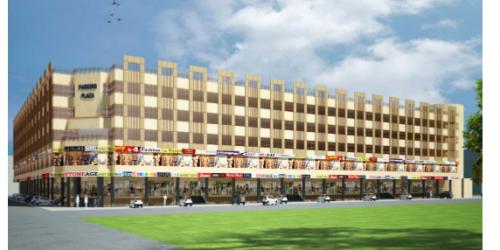 Eight Story Parking Plaza at Faisalabad